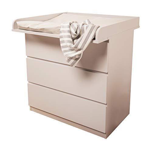 Kidsaw fasciatoio Board per Ikea Malm, bianco, di