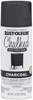 Rust-oleum 6 Packs 12 ounce Charcoal Chalk Spray