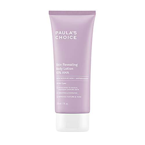 Paula's Choice Skin Revealing Body Lotion 10% AHA, Glycolic Acid & Shea Butter Exfoliant, Moisturizer for Keratosis Pilaris (KP) Prone Skin, 7 Ounce