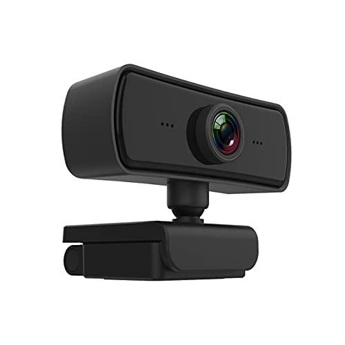 MARSPOWER-Kamera, 1080P High-Definition-Netzwerk-Video-Computerkamera 2K-Bildgenuss Eingebautes Mikrofon Freies Laufwerk - Schwarz