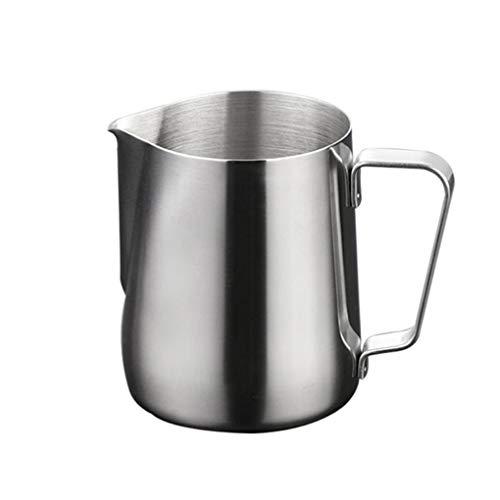 Rolin Roly 200ml/6.8oz Milch Pitcher rostfreiem Edelstahl Milchkännchen perfekt für Milchaufschäumer Cappuccino Milchschaum Cafe Art Aufschäumkännchen Frothing Cup