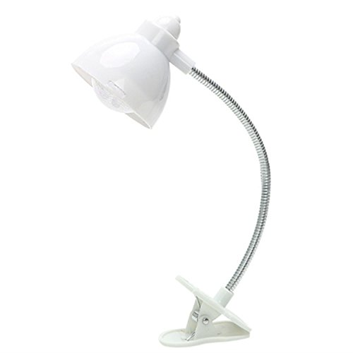 SODIAL Luz libro LED Flexible Portatil Mini Rosa Ajustable