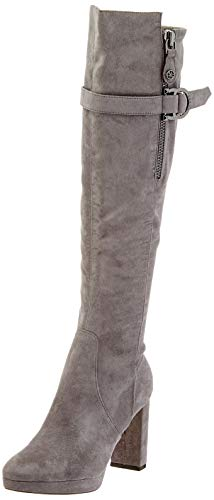 Guess ABALENE2/STIVALE (Boot)/Fabric, Botas Altas Mujer, Gris Grey Grey, 36 EU