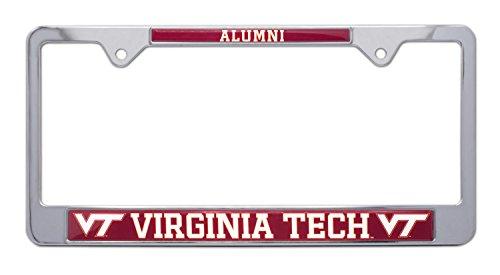 Virginia Tech University 'Alumni' License Plate Frame