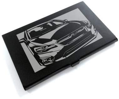 ブラックアルマイト「スバル(SUBARU) インプレッサ」切り絵デザインのカードケース