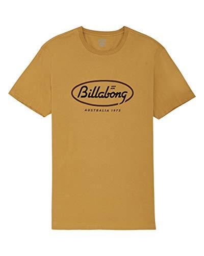 Billabong State Beach tee SS T-Shirt, Hombre, Gold, L