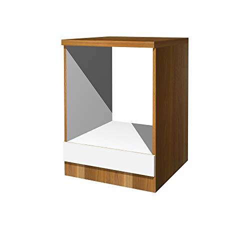 Flex-Well Herdumbauschrank COSMO - Unterschrank - Küchenschrank - Breite 60 cm - Weiß