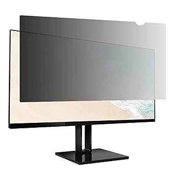 Amazon Basics Privacy Screen Filter - 21.5 Inch 16 9 Widescreen Monitor Anti Glare & Blue Light Filter  21.5 inch  16 9  18.77  x 10.56