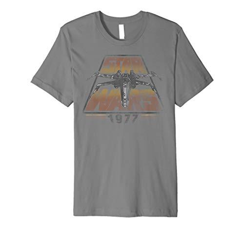 Star Wars X-Wing 1977 Vintage Retro Premium Graphic T-Shirt
