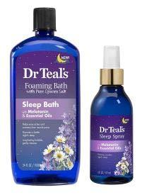 Dr Teal's Foaming Bath Sleep Soak &…