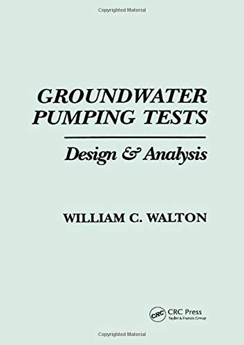 Groundwater Pumping Tests