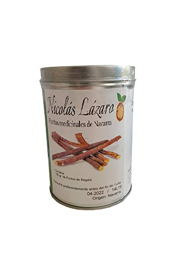 SABOREATE Y CAFE THE FLAVOUR SHOP Regaliz de palo Ecológica directamente del productor Nicolás Lázaro 150 gramos