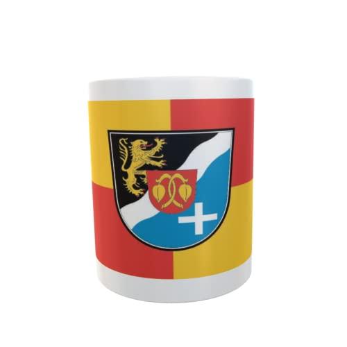 U24 Tasse Kaffeebecher Mug Cup Flagge Rhein-Pfalz-Kreis