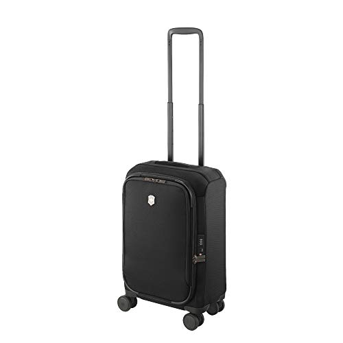 Victorinox Connex Frequent Flyer Carry-on Softside Case, Black