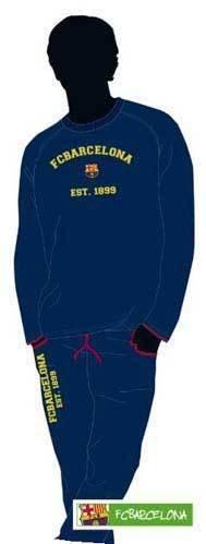 Futbol Pijama niño Club Barcelona invierno - 4