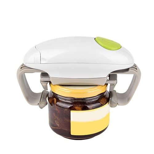 LifBetter Abrelatas eléctrico duradero abrelatas automático adecuado para latas selladas con manos libres abridor de botellas utensilios de cocina
