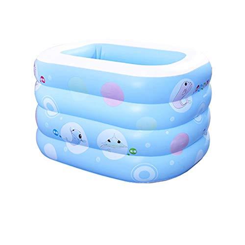 Xiao Jian- Inflable Piscina-bebé Piscina Bebé Inicio Aislamiento de la Piscina Engrosamiento Recién Nacido Infantil Infantil Cubo de natación Inflable Piscina Inflable