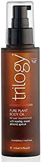 TRILOGY Pure Plant Body Oil 110ml-With Rosehip to Repair and Hydrate, Sweet Almond to stabilise The Skin's Natural pH and Apricot to Soothe Inflammation, Helps to Improve Stretch Marks and Scarring