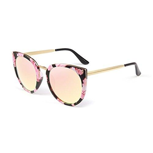 Cielo moderno Gafas Hermosa Chica Big Frame Polarized Gafas De Sol De Luz Anti-UV Anti Glare