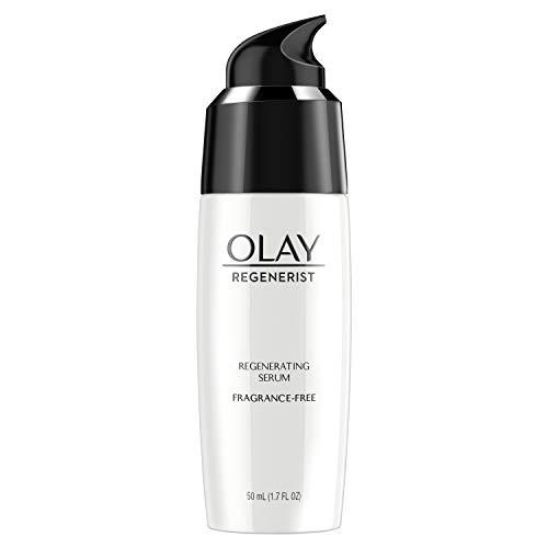 Face Moisturizer by Olay, Regenerist Fragrance Free Light Gel Regenerating Serum, 1.7 fl oz