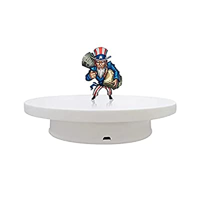 Amazon - 40% Off on Rotating display stand,8 Inches Electric Motorized Rotating Turntable