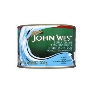 John West Thunfisch Chunks in Salzlake - 1 x 1,7 kg