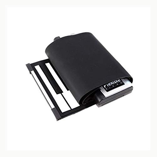 LIUFS-El teclado Teclado de silicona plegable Teclado suave Piano portátil 61 teclas (Tamaño : 61 keys)