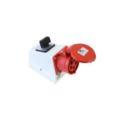 PCE CEE-Wanddose 16A 5p 6h mit Schalter 400V IP44 75915-6