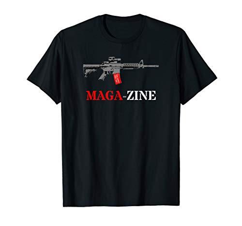 AR15 Rifle Accessories Mag Wraps Tactical AR 15 Upper Gear T-Shirt