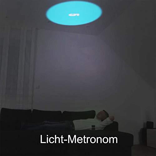 DreamMe ORBIT Einschlafhilfe Licht Metronom – schneller einschlafen – Handy wird zum Smartphone Projektor - 6