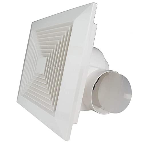Extractor De Aire, Extractor Cocina Ventilador de escape, ventilador de baño Ventilador de escape ventilador ventilador de ventilación Hogar de 8 pulgadas, ventilador de techo para baño / cocina / sal