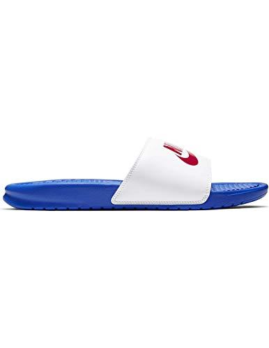 Nike Benassi JDI - Game royal/University red-Whit, Größe:10