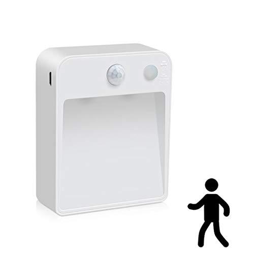YWJPJ. LED Wandlampe Innenleuchte, Wandleuchte Bewegungsmelder Innen Warmweiß, Nachtlicht Sensor Für/Flur/Treppenhaus/Garage/Wohnzimmer