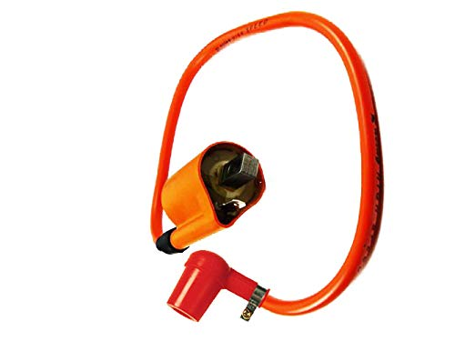 Zündspule Tuning Ersatzteil für/kompatibel mit Yamaha DT 125 PW SR TDR 125 TTR TW TZR XT+Racing Kerzenstecker