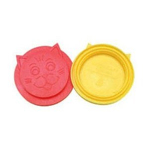 Petmate Dosckocil CDS26124A 12-Pack Kitty Kap Cat Food Can Lid