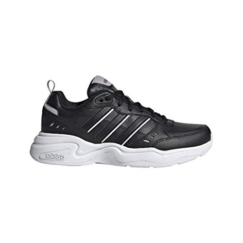 adidas Women's Strutter Cross Trainer, Black, 9 M US