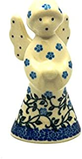 Polish Pottery Angel Figurine - Small - Terrace Vines