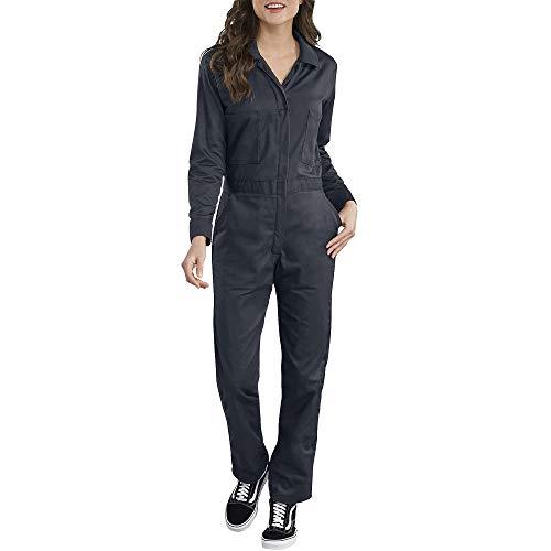 Dickies Damen Long Sleeve Cotton Twill Coverall Arbeitsanzug, Dunkles Marineblau, X-Klein