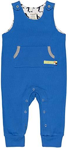 loud + proud Baby-Unisex Uni Aus Bio Baumwolle, GOTS Zertifiziert Strampler, Blau (Cobalt Cob), 56 (Herstellergröße: 50/56)