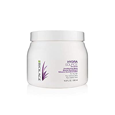 BIOLAGE Hydrasource Conditioning Balm | Hydrates, Nourishes & Detangles Dry Hair | Sulfate-Free | For Medium To Coarse Hair