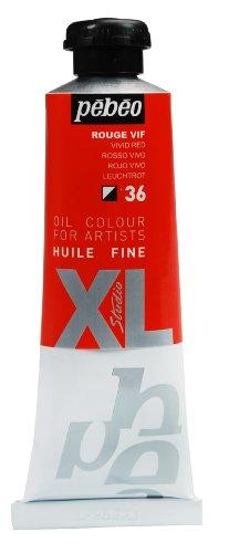 Pebeo XL - Pintura al óleo (37ml), color rojo