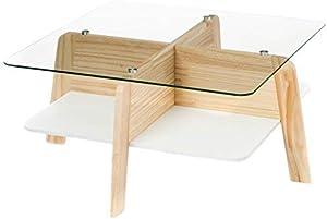 Wink design,Visby, Legno Finitura Rovere, Bianco