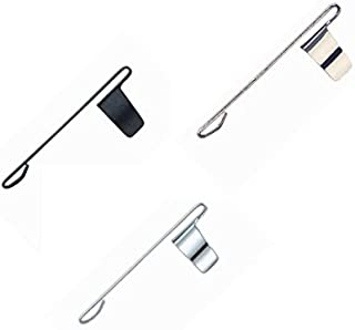Fisher Space Pen Clip 3 Pack! Gold, Matte Black and Chrome!