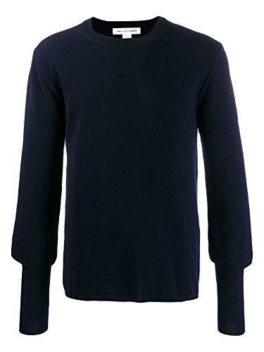 Luxury Fashion | Comme Des Garçons Shirt Heren W275072 Donkerblauw Wol Truien | Lente-zomer 20