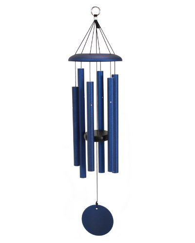 Corinthian Bells 30-inch Windchime, Midnight Blue
