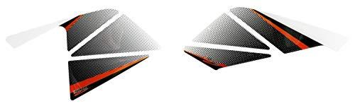 BIKE-label 800420 Seitentank Pad Orange Schwarz kompatibel für KTM 125 Duke