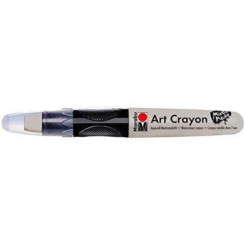 Marabu 01409003082 Creative Art Crayons, Silver