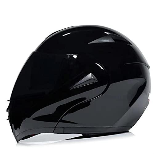 HSCDQ 2021 Casco de Carreras Profesional Modular Dual Lente Motocicleta Casco Casco Casco Casco Capacete Casque Moto S M L exc.tq (Color : 17, Size : L)