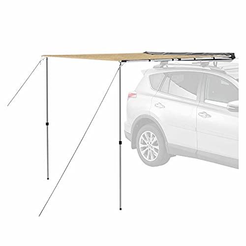 Threesome Toldo Impermeable para automóvil Refugio para el Sol, Carpa para automóvil Exterior Refugio para Acampar al Aire Libre, para Acampar, Picnic, Viajes,2 * 3m