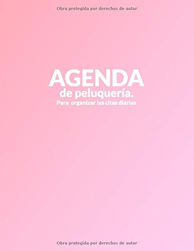 Agenda de Peluquería: Para organizar las citas diarias